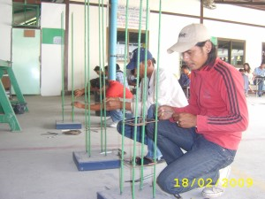 Steel Fixer Testing 1